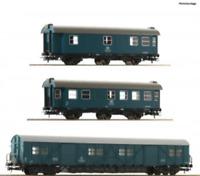 Roco 67198 HO Gauge DB Bauzugwagen Coach Set (3) IV