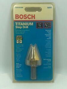 "Bosch SDT5 Titanium Step Drill, 7/8"" FREE SHIPPING"
