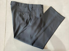 Jos. A. Bank Men's Blue Solid Polyester Dress Pants 37X29 $125