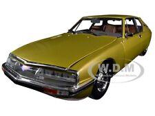 1971 CITROEN SM GOLDEN LEAF / GOLD 1/18 DIECAST MODEL CAR BY NOREV 181730