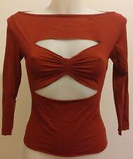 Abbigliamento MODA donna maglia TOY GIRL colore rosso scuro OFFERTA OCCASIONE