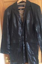 Nickelson Men's single breast Leather Jacket