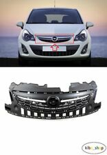 OPEL CORSA D 2011 - 2014 NEW FRONT BUMPER UPPER RADIATOR GRILLE GRILL - 1320180