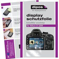 6x dipos Nikon D3100 Pellicola Prottetiva Transparente Proteggi Schermo