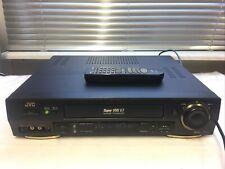 JVC HR-S7711 S-VHS-Videorecorder SVHS-ET TBC inkl. FB, 2 JAHRE GARANTIE