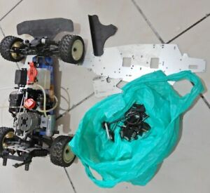 VINTAGE KYOSHO 1/10 GP-10II AND PARTS