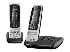 SIEMENS GIGASET C430 A DUO TWIN CORDLESS PHONES ANSWER MACHINE HANDSET*BOXED*UK