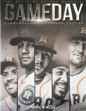 2018 HOUSTON ASTROS YEARBOOK PROGRAM COMMEMORATIVE MLB OFFICIAL 344 PAGES ALTUVE