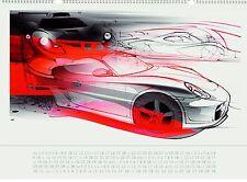 Porsche Kalender 2008, mit CD