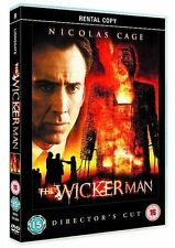 The Wicker Man DVD Movie Horror Mystery Thriller Director's Cut Ex Rental