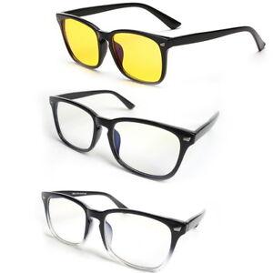 Computer Gaming Glasses Blue Light Blocking Filter Smartphone Eyewear Anti Glare