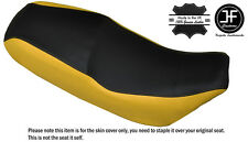 YELLOW & BLACK CUSTOM FITS LIFAN SKYGO LF 125-30 DUAL LEATHER SEAT COVER