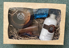 The Body Shop Coconut Gift Set Body Butter Soap Body Milk Bath Bubble