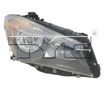 TYC NSF Right Side Halogen Headlight Assembly for Mercedes Benz CLA250 2014-2017