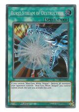 Burst Stream of Destruction LCKC-EN025 Secret Rare Yu-Gi-Oh Card 1st Edition New