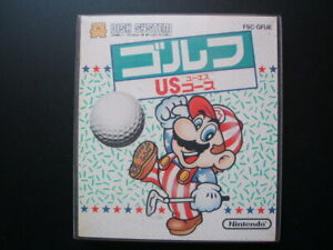 Nintendo Famicom Disk System MARIO GOLD US COURSE NEW