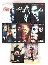 24 Heures Chrono L'INTEGRALE Série Coffret Lot DVD / Saison 1 2 3 4 5 6 7 8