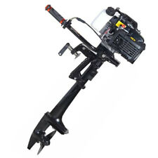 4-Stroke 4.0 HP 44CC Outboard Motor Boat Engine With Air Cooling System CDI