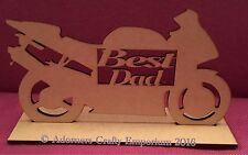 Wooden Motorbike Decorative Plaques & Signs