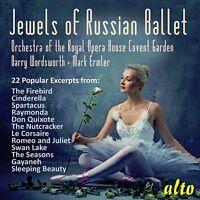 CD JEWELS OF RUSSIAN BALLET 22 POPULAR EXCERPTS PROKOFIEV STRAVINSKY MINKUS ETC