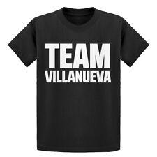 Youth Team Villaneuva Short Sleeve Kids T-shirt #3465