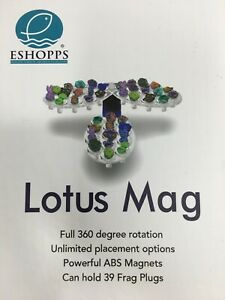 Eshopps Lotus Mag Frag Holder 39 Plugs for Aquariums