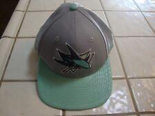 SAN JOSE SHARKS SNAKESKIN 2 Tone New Era 950 Snapback NHL Baseball Cap Hat NEW