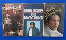 LOT of 3 TV/Movie Paperbacks D32 Joe Claro Robert Miall Erich Maria Remarque VG