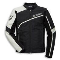 DUCATI Dainese 77 Retro Lederjacke Leder Jacke Leather Jacket schwarz NEU 2020