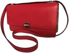 Céline Paris Celine Phoebe Classic Box Python Red Liege Leather Bag Black/Brown
