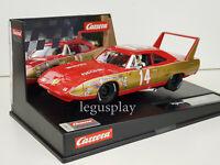 Slot Car Scalextric Carrera Evolution 27640 Plymouth Superbird #14