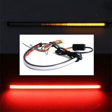 Universal Car DRL Switchback Flowing LED Strip Light Sequential Turn Signal 1x
