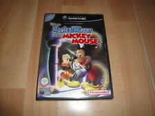 Pal version Nintendo GameCube Mickey Mouse Magical Mirror