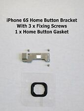 iPhone 6s Home Button Mounting Metal Plate Bracket + Screws + Gasket