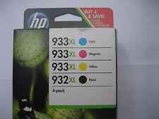 ORIGINAL VALUE PACK C2P42AE HP OJ6600 INK CMYK 1xNo.932XL blk+No.933XL cmy
