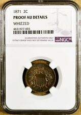 1871 NGC Proof Details Two Cent Piece