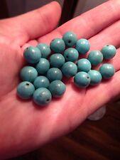 Piedras Preciosas Naturales cuentas 12mm turquesa en la fabricación de joyas, riqueza Feng Chui