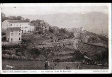 SANTO-PIETRO-di-TENDA (CORSE) VILLAS animées vues de POGGIOLO en 1947