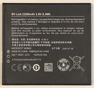 Official Microsoft BV-L4A Original Replacement Battery 2200mAh