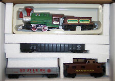 "HO 0-4-0 OLD TIME ""FAT BOY"" PENNSYLVANIA TRAIN SET # RRP-340 W/2 GONDOLAS & CABO"