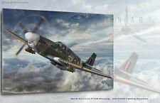 Aviation Art Canvas print P-51B Mustang III 316SQ Capt,Bohdan Arct