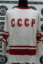 maglia hockey CCCP RUSSIA MATCH WORN bike shirt trikot jersey camiseta maillot