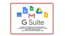 1) Unlimited Google Drive G Suite Lifetime / Passwort + Team Laufwerke