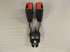 FORD MONDEO MK3 01 -07 OSR CENTRE REAR TWIN SEAT BELT STALK BUCKLE SOCKET ANCHOR