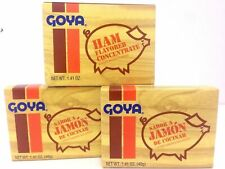 3 BOXES OF GOYA HAM FLAVOR CONCENTRATE 1.41 OZ