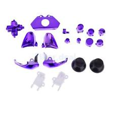 18 Pieces Controller Gamepad Buttons Repair Fixing Part for Xbox One Purple