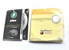 Lot of 2 Prince Lightning XX and Kirschbaum Competition Tennis Strings - New