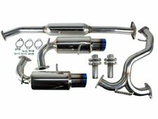 Invidia N1 Dual Catback Exhaust System w/ Titanium Tips Frs Fr-S Gt86 86 Brz New