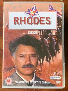 Rhodes DVD 1996 Mini Rhodesia Zimbabwe Cecil Drama TV Series w/ Martin Shaw