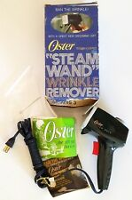 Vintage 70's OSTER Teflon Coated Steam Wand Iron Wrinkle Remover Model 692-01